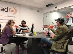 Con Eva Robles en radio libertadfm