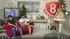 Presentacion de la novela El Andorrano en Canal8TV
