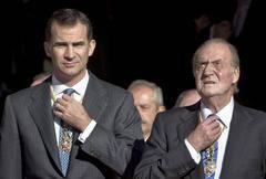 Felipe y Juan Carlos: dos gallos en un corral